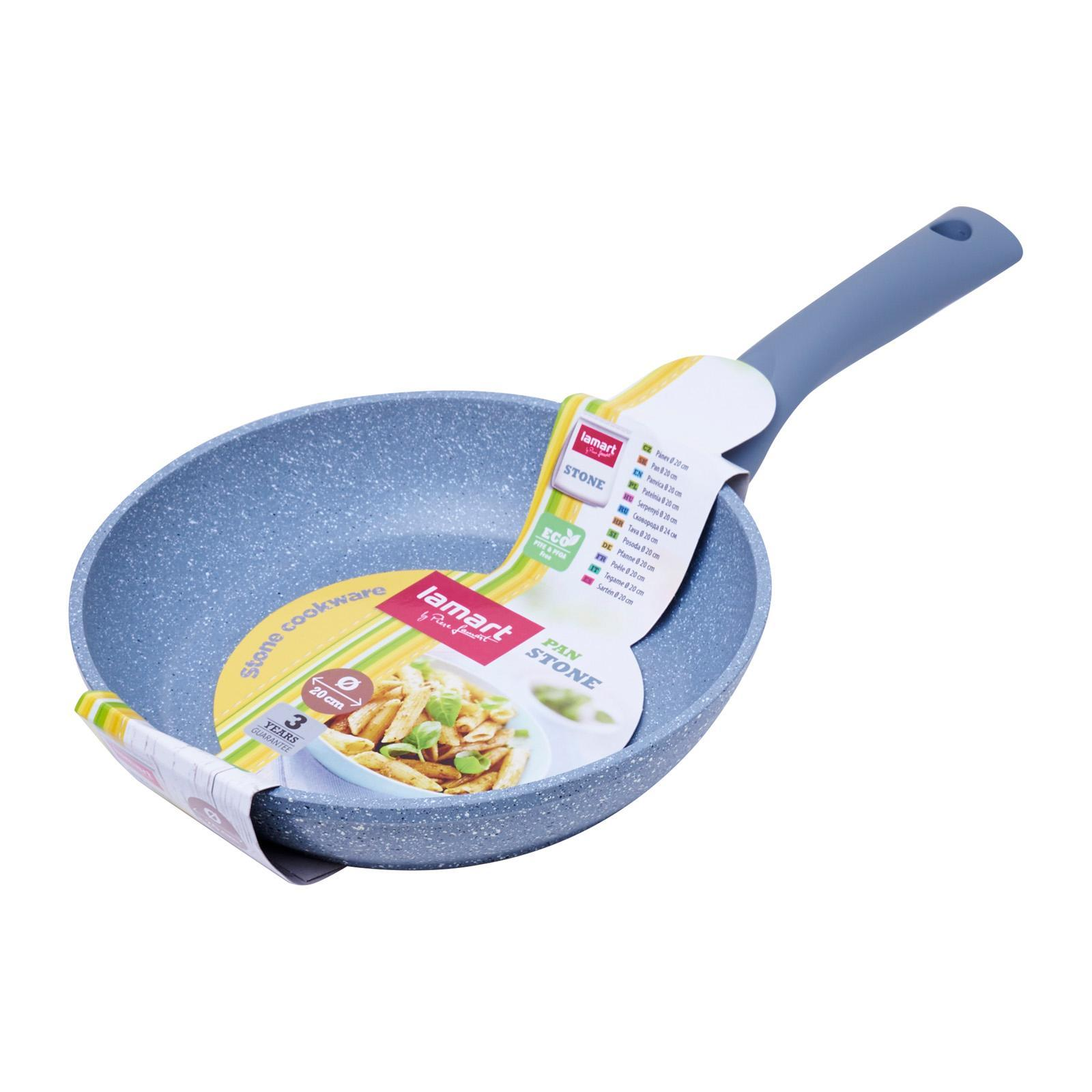 Lamart Induction Ready Marble Stone Fry Pan 20X4.2Cm