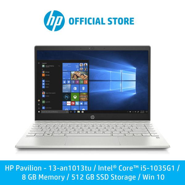 HP Pavilion - 13-an1013tu / Intel® Core™ i5-1035G1 / 8 GB Memory / 512 GB SSD Storage / Win 10