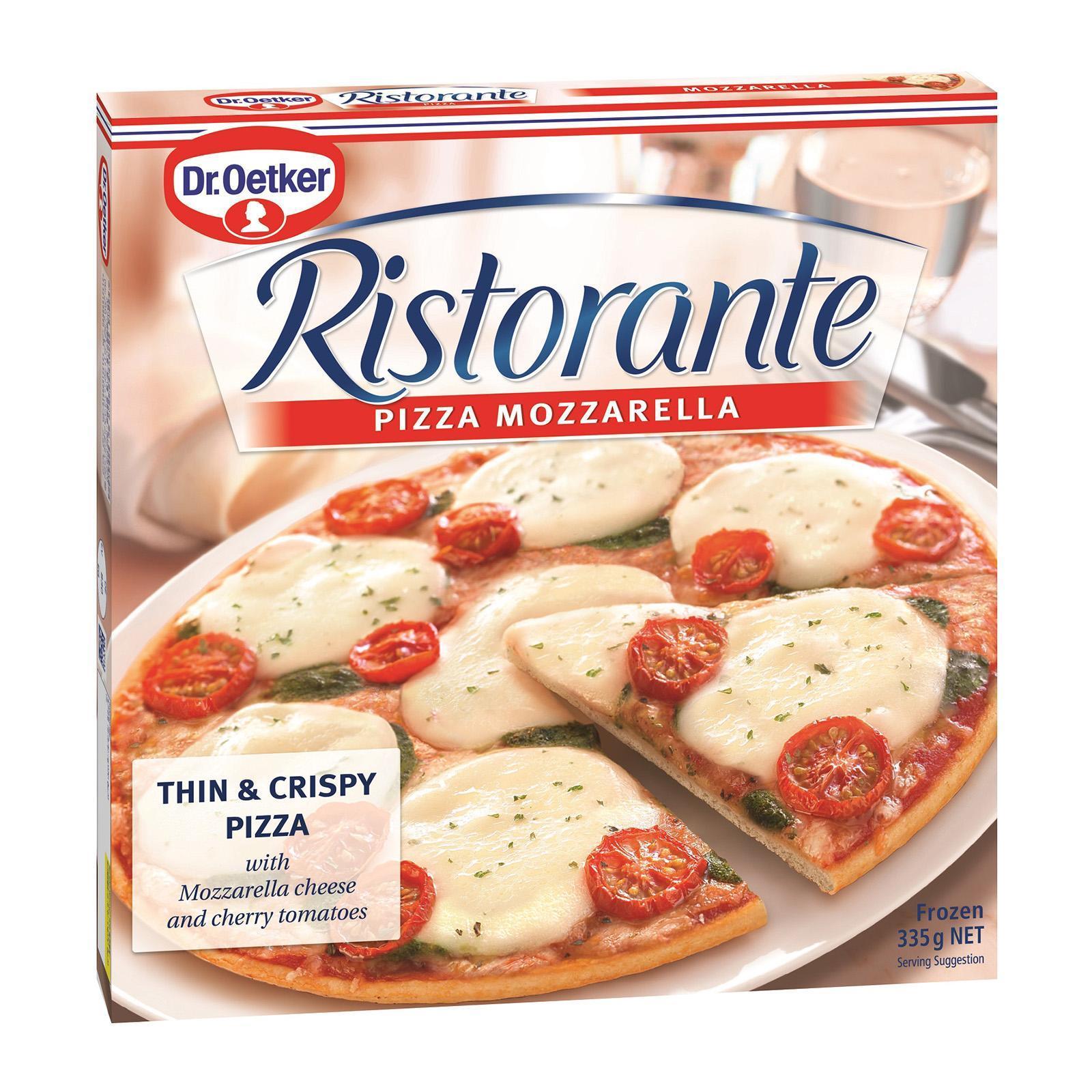 Dr Oetker Ristorante - Mozzarella - Frozen By Redmart.