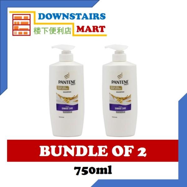 Buy [Bundle of 2] Pantene Total Damage Care Shampoo 750ml x 2 Singapore