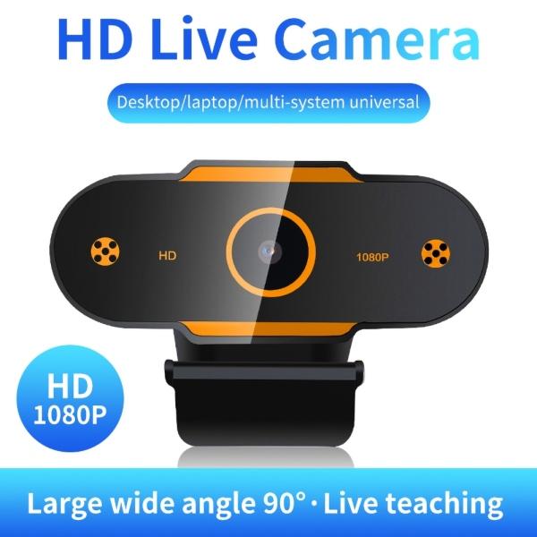 Webcam USB Độ Phân Giải Cao 480P/720P/1080P, Camera Phát Trực Tiếp Có Mic Cho PC Máy Tính Xách Tay
