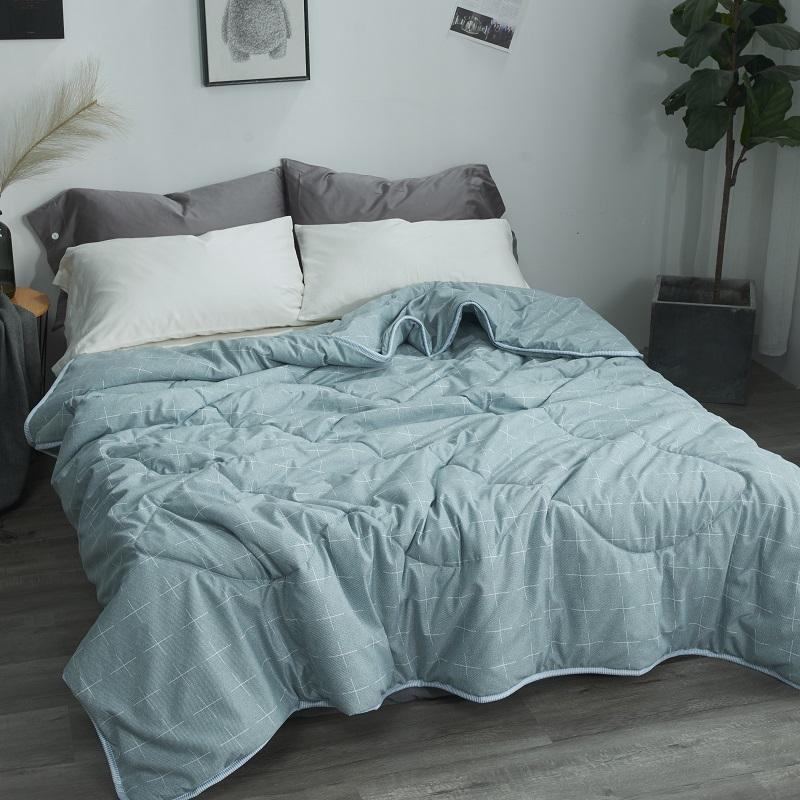 ab11d6a118 Washed Cotton Summer Quilt Summer Airable Cover Summer Blanket Double  Spring And Autumn Summer Thin Blanket