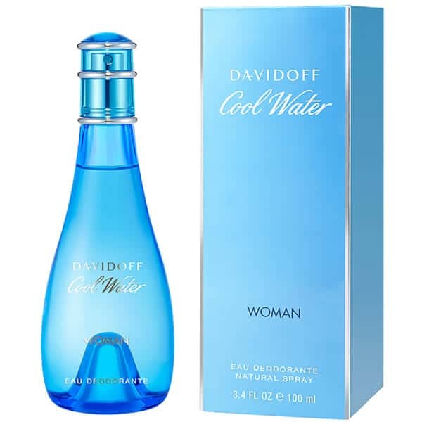 Buy DAVIDOFF COOLWATER WOMAN DEODORANT SPRAY 100ML Singapore