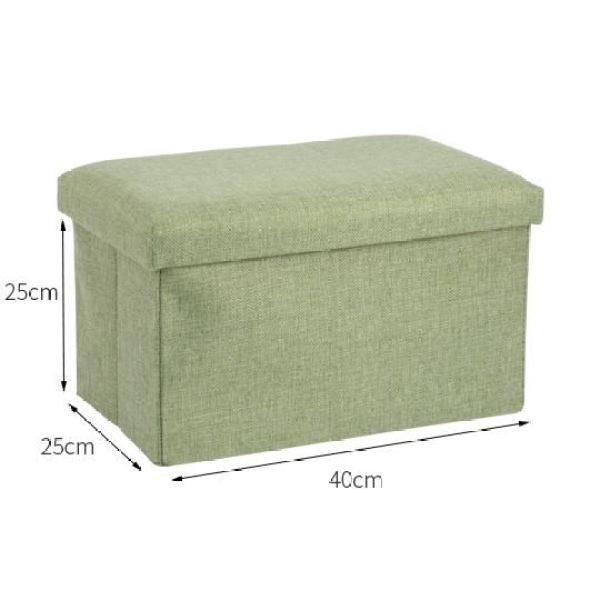 Rectangular Adult Footstool Storage Stool Storage Childrens Toy Household Box Bench Can Sit Household Stool Storage