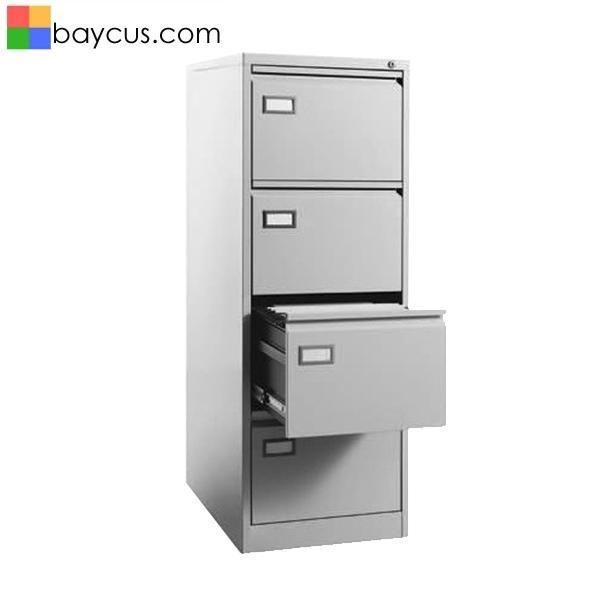 4 Drawers Filing Cabinet Model D-A4  Anti-tilt Filing Drawer Cabinet  Office Metal Drawers Cabinet