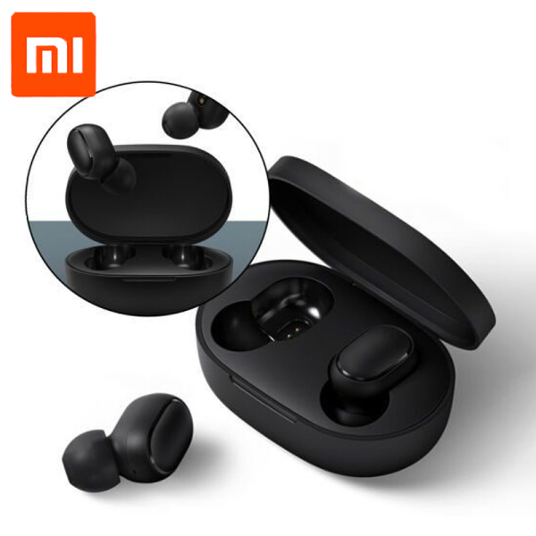 Xiaomi MI True wireless Earbuds Basic BT5.0 / Bluetooth 5.0 TWS Noise reduction Stereo bass Mi Earbuds AI Control / Long Battery Light weight with high-quality stereo audio / Phone call support / Local Warranty Singapore