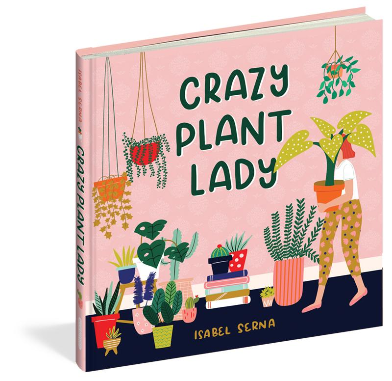 Crazy Plant Lady by  Isabel Serna