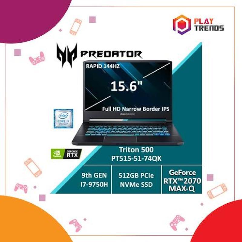 Predator Triton 500 PT515-51-74QK with 9th Gen Intel i7 Processor and RTX 2070 (Max-Q) Graphics card