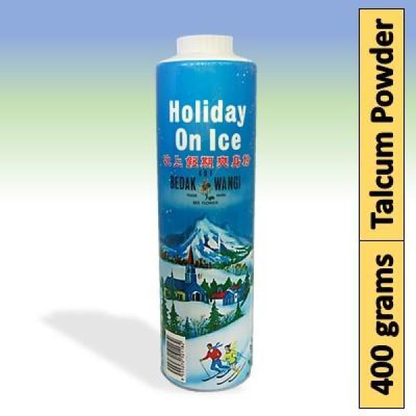 Buy [6 Bottles] Holiday On Ice Bedak Wangi Perfumed Talc 400 grams Singapore