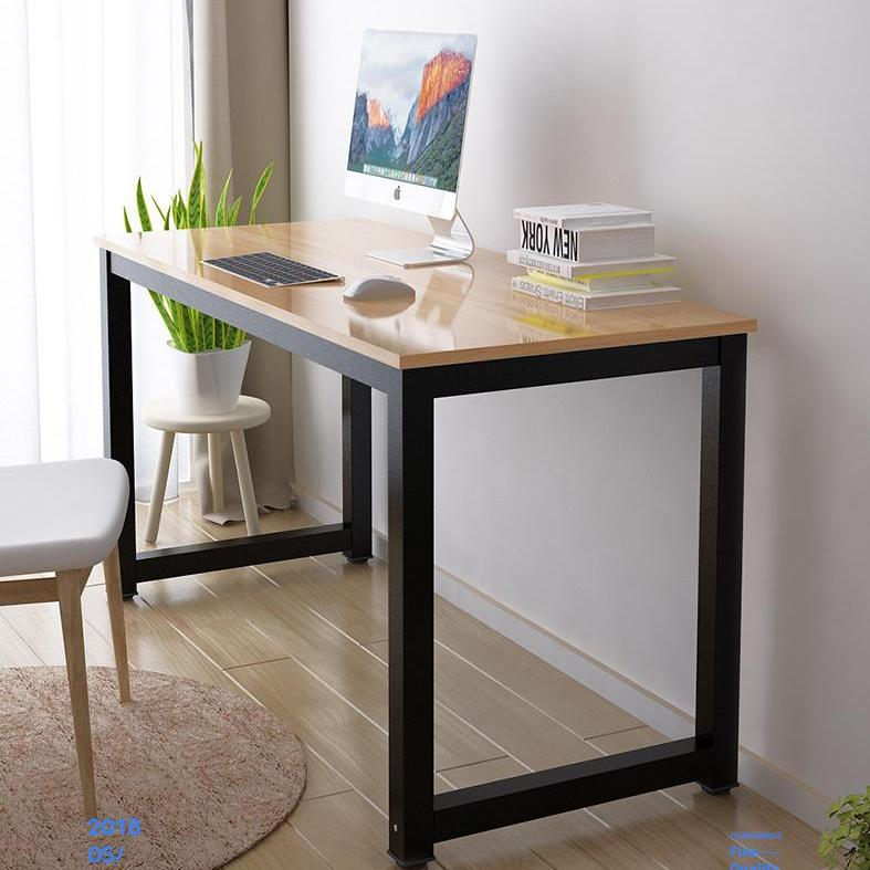 Professional Home Office Desk / Computer Table -  2.5cm Thickness Wooden board with Steel Frame - Study Table/ Computer Table/ Office Table