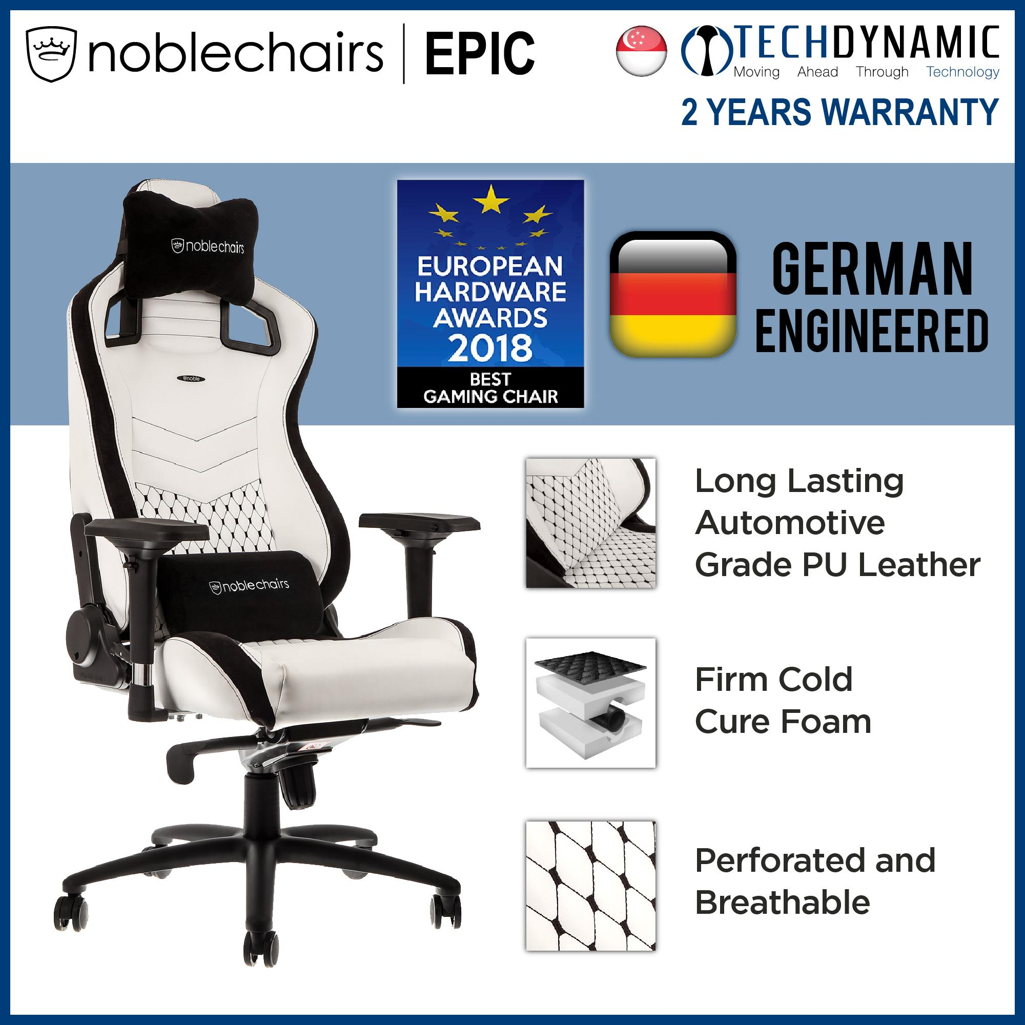 Noble Chairs Gaming Chair Epic Series  [Available in 7 colors]