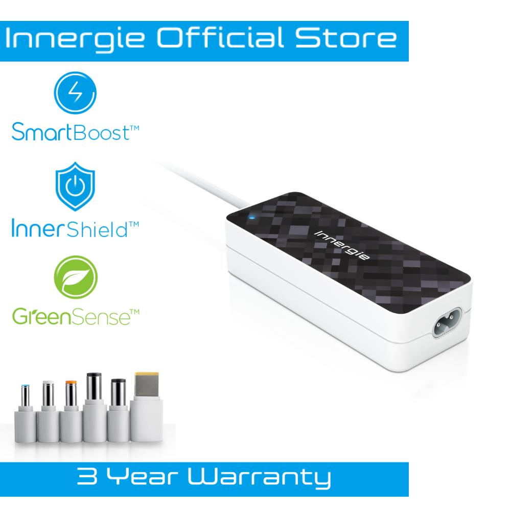 Innergie PowerGear 90 Black Color Universal Laptop Adapter (90W)