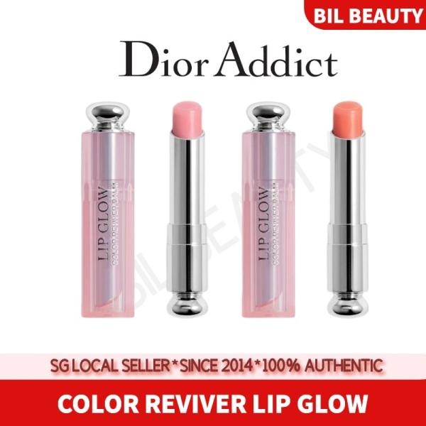 Buy [DIOR] LIP GLOW COLOR REVIVER BALM #001 #004 LIP BALM LIP GLOSS Singapore