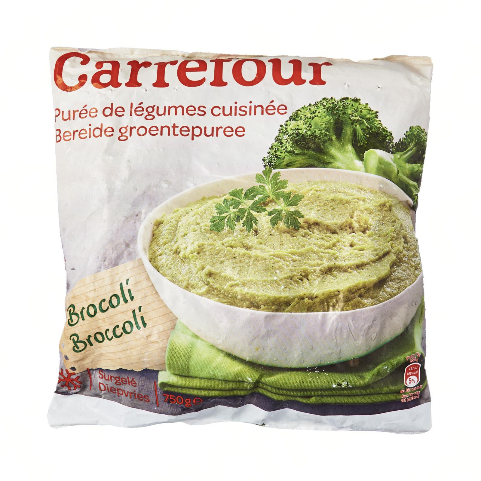 Carrefour Mashed Brocolis - Frozen - By Le Petit Depot By Redmart.