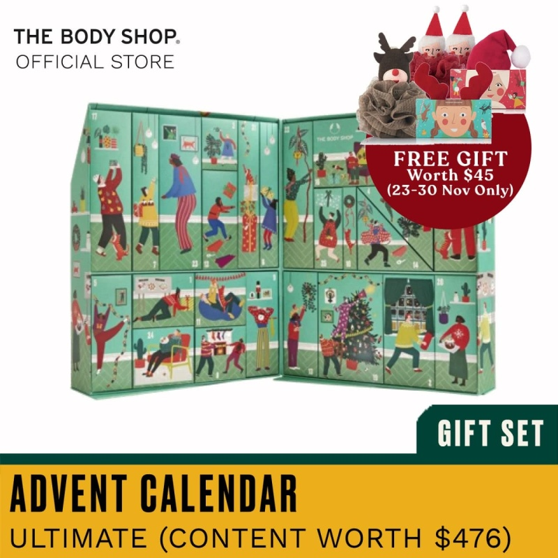 Buy The Body Shop Make It Real Together Ultimate Advent Calendar (Christmas Gift Set) Singapore