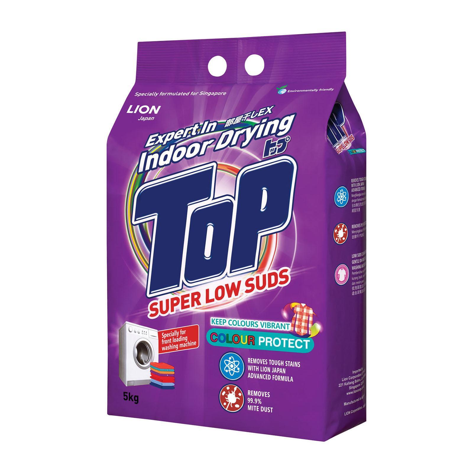 Top Indoor Drying - Super Low Suds Anti-Bacterial - Powder Detergent