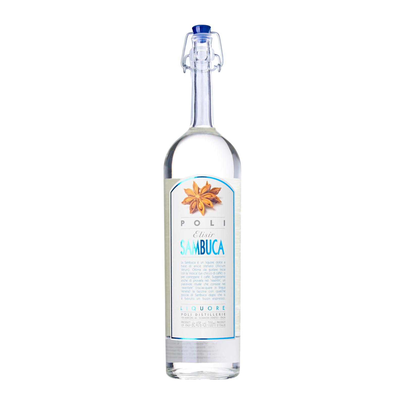 Poli Grappa Sambuca - Anise Liqueur - Italy - Le Vigne