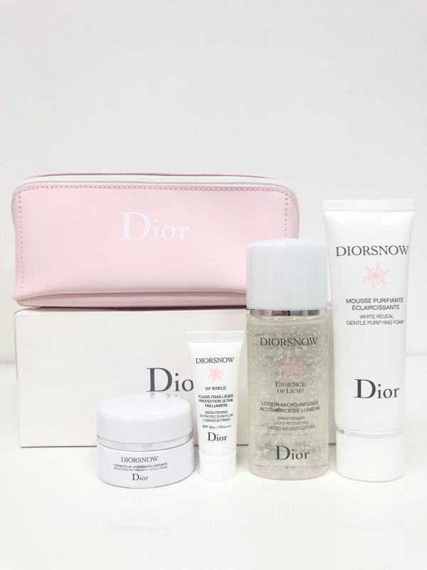 Buy Dior Diorsnow Gift Set (447775 - 4 Pcs + 1 Pouch) Singapore