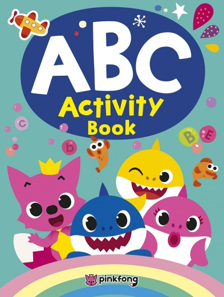 Pinkfong ABC Activity Book / English Toddler Books / (9789814841245)
