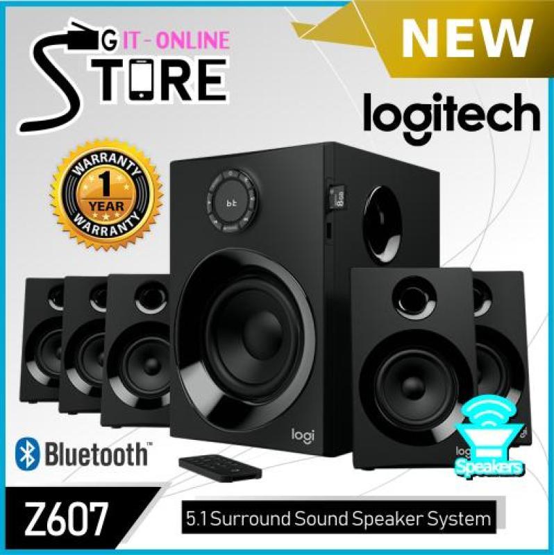 Logitech Surround Sound Speakers Z607 Singapore