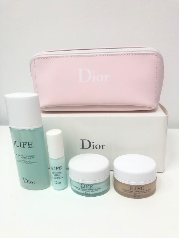 Buy Dior Hydra Life Gift Set (447836 - 4pcs set + 1 pouch) Singapore