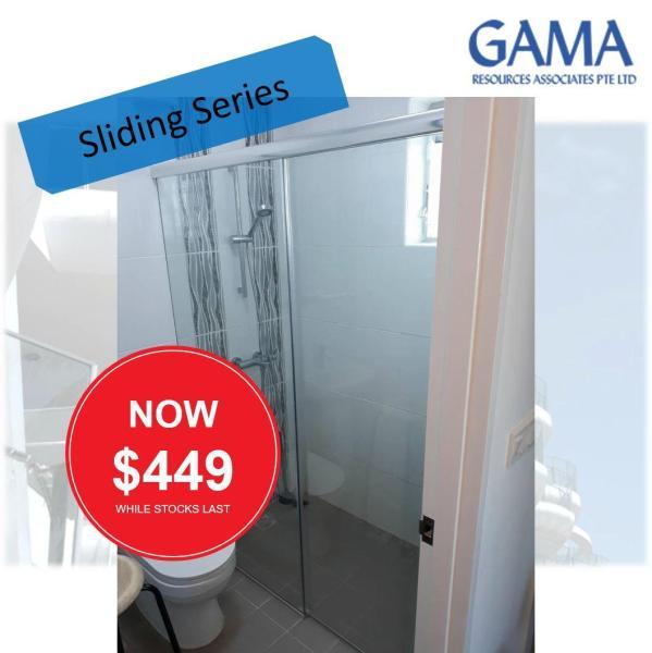 Sliding Shower Screen BTO Promotion