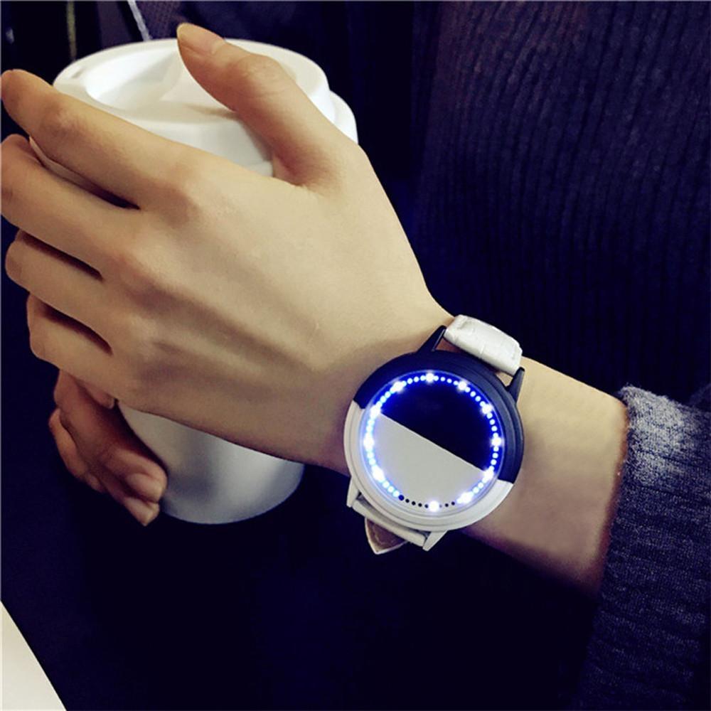 Đồng hồ đèn LED không thấm nước Nam Và Nữ Đồng hồ tình nhân Thông Minh đồng hồ điện tử bán chạy
