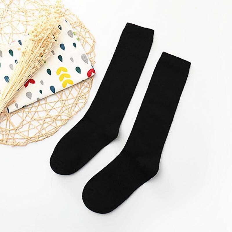High Elasticity Girl Cotton Knee High Socks Uniform Christmas Snow Fox Women Tube Socks