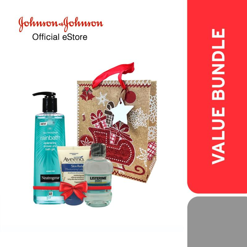 Buy [ONLINE EXCLUSIVE - A Bag of Love] J&J Mini Gift Set - For Him Singapore