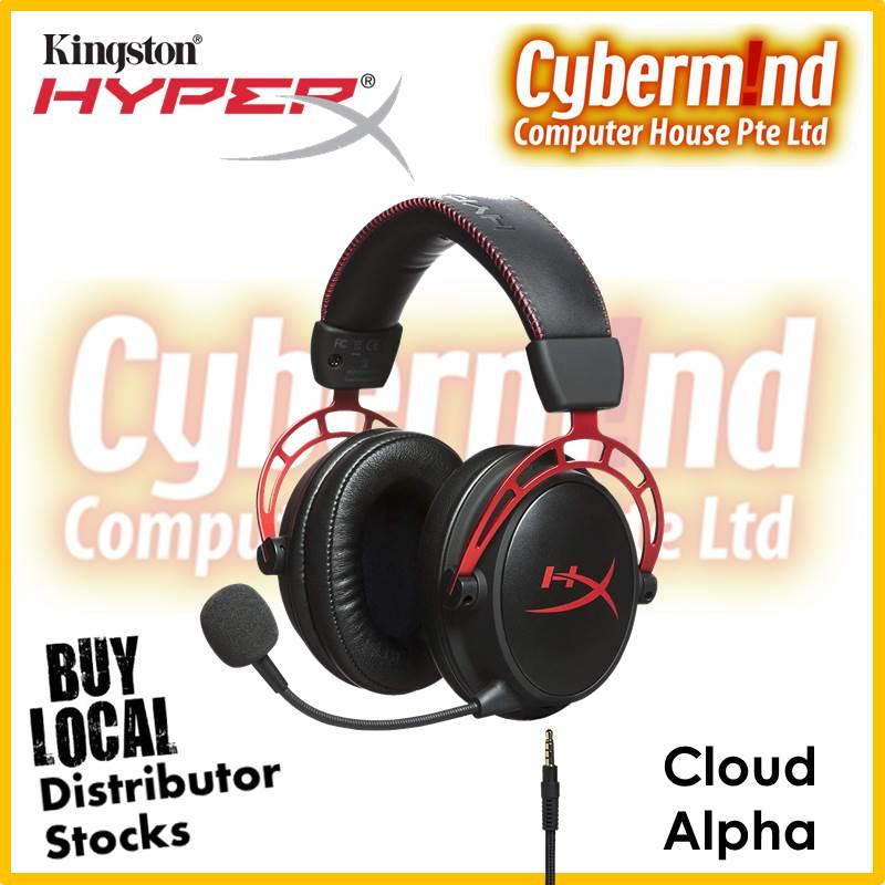 HyperX Cloud Alpha Pro Gaming Headset for PC, PS4 & Xbox One, Nintendo Switch (HX-HSCA-RD/AS) (Local Distributors Stocks)