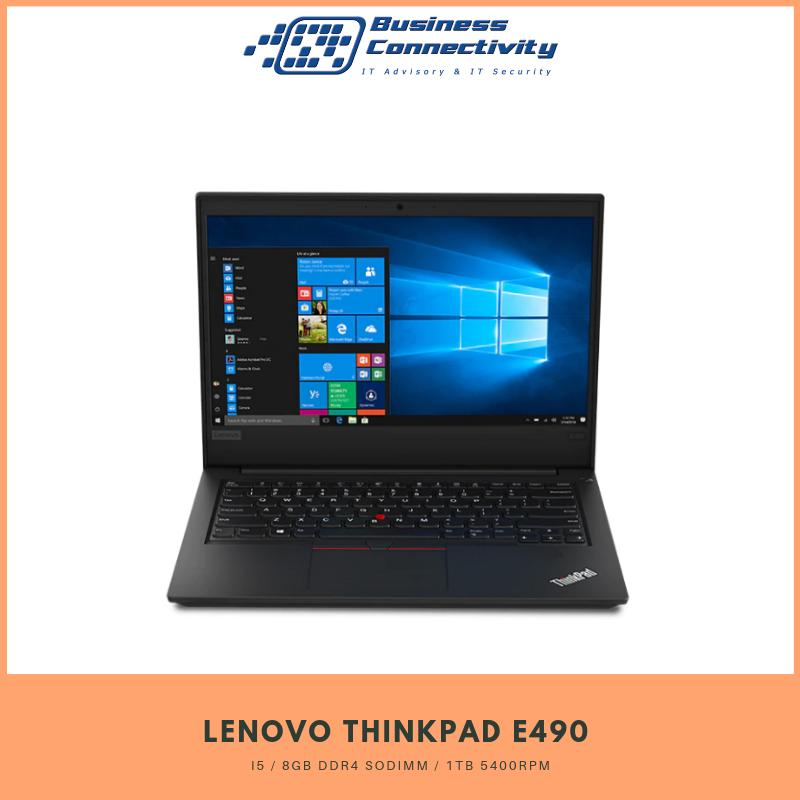 Lenovo Thinkpad E490 Business Laptop / Win 10 Pro / i5 / 8GB DDR4 SoDIMM / 1TB 5400rpm