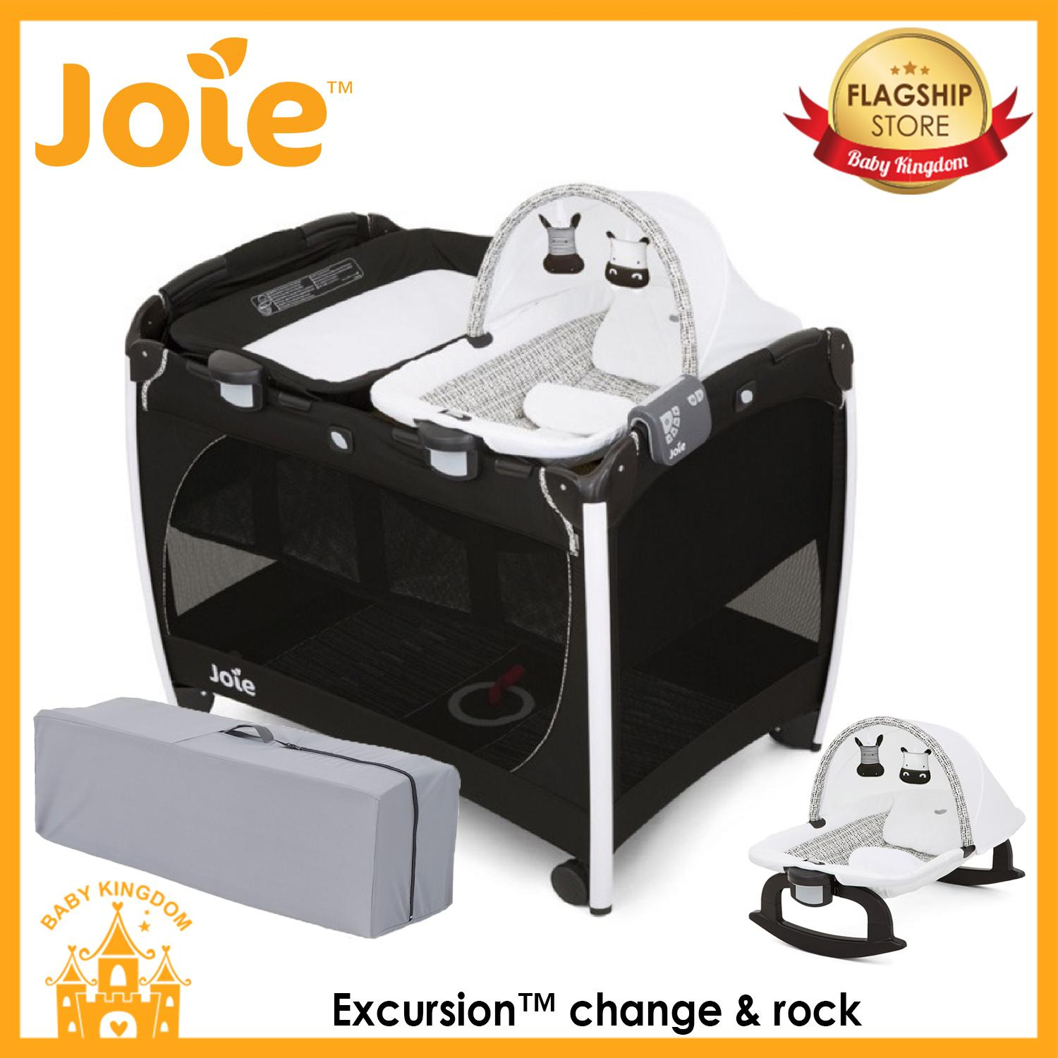 Joie Excursion Change & Rock By Baby Kingdom.