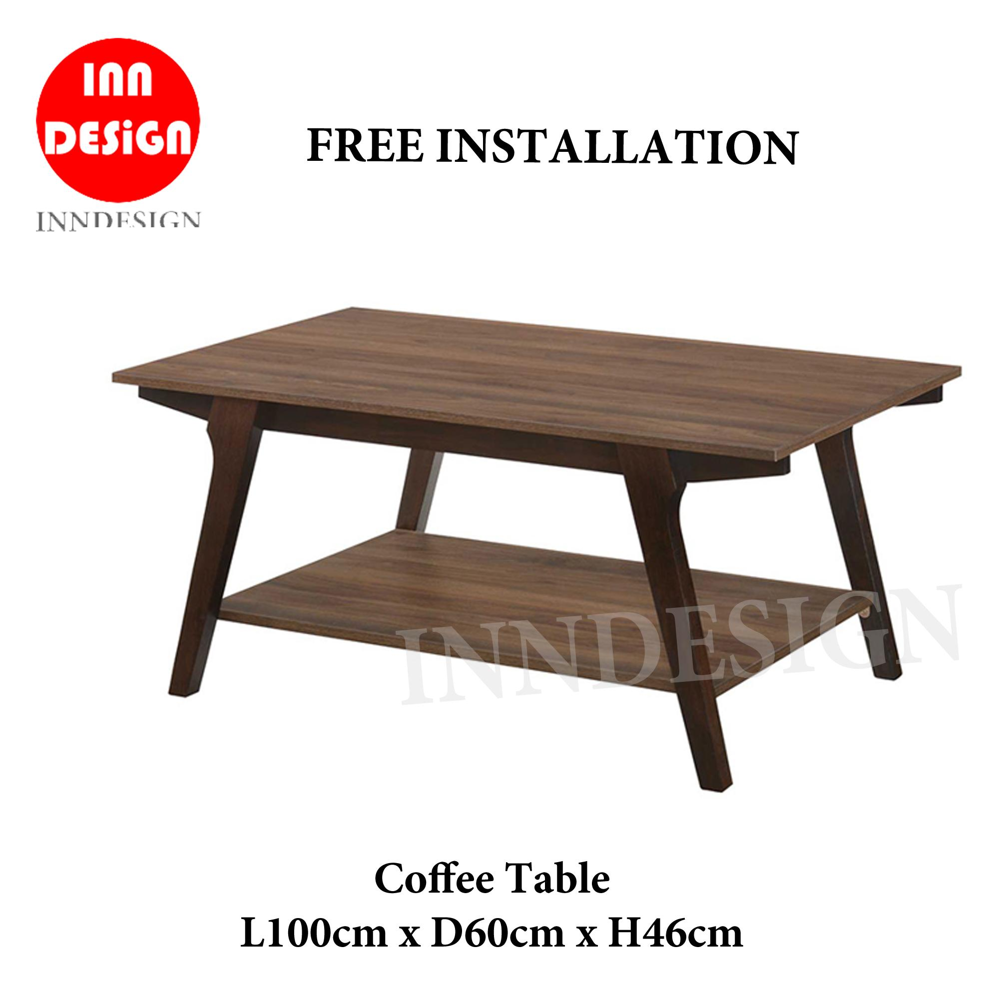 Edda Coffee Table (Free Delivery and Installation)
