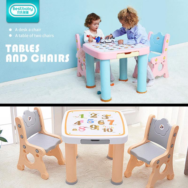 8608, Kids Learning Table with 2 Chairs