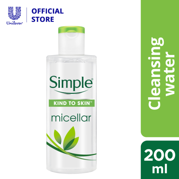 Buy Simple Kind To Skin Micellar Cleansing Water 200ml Singapore