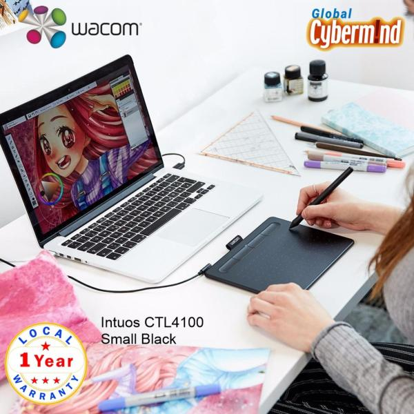 Wacom Intuos Small, Black (CTL-4100/4100WL) ( Brought to you by Global Cybermind )