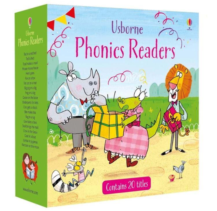 Usborne Phonics Readers Set Consists of 20 books & CD