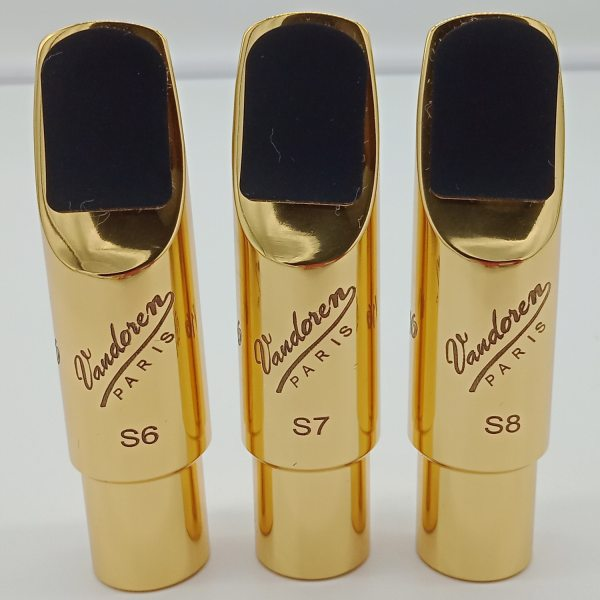 Professional V16 Metal Soprano Saxophone Mouthpieces Gold Plated Sax Mouth Pieces Accessories S5 S6 S7 S8 S9 Malaysia
