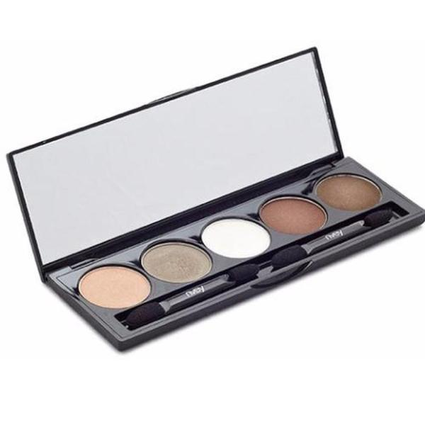 Buy Nvey Eco pure organic makeup Eye Shadow Palette 5 Colour Collection 7.5g/.26oz. Singapore