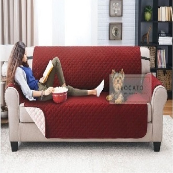 (SINGAPORE SELLER)Sofa Cover Protector Professional Non Slip Quilted Pet Sofa Protector Cover, Wear Resistant and Waterproof Furniture Protector - Sofa Cover Protector 1