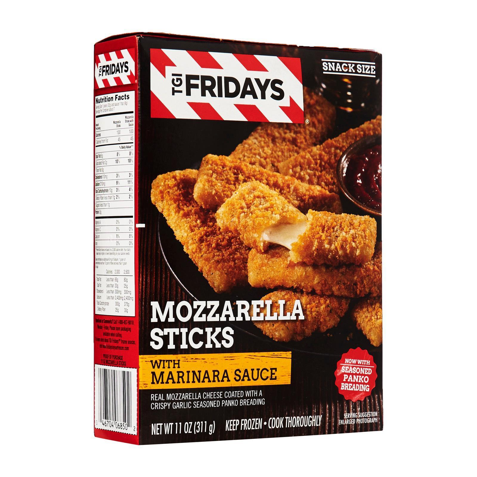 T.G.I.Friday's Mozzarella Sticks - Frozen