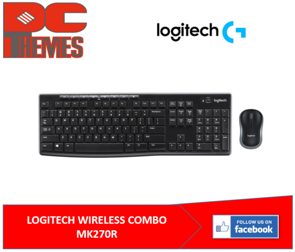 LOGITECH WIRELESS COMBO MK270R Singapore