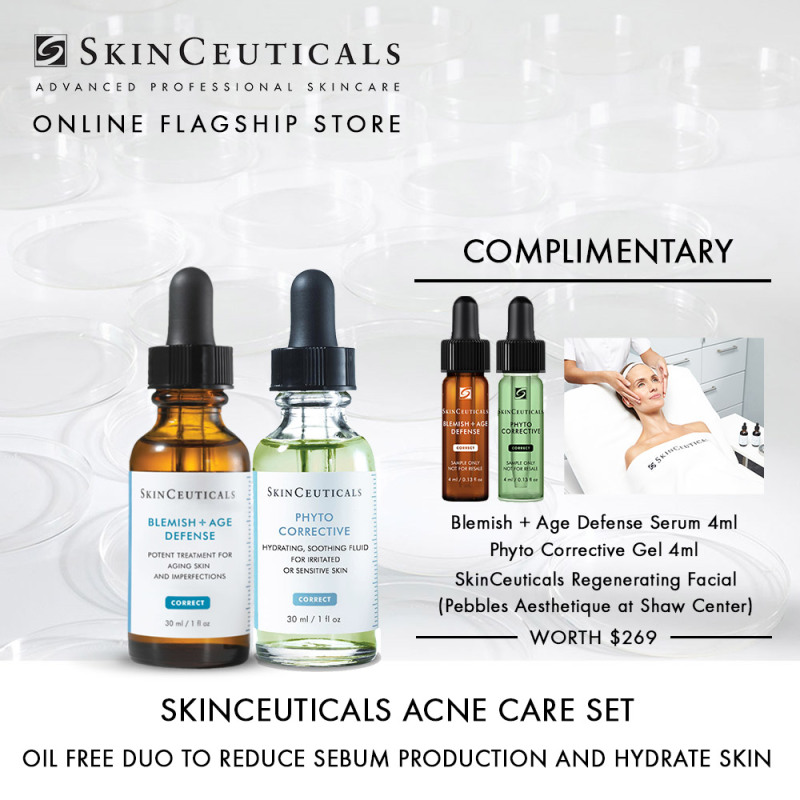 Buy [Womens Day] SkinCeuticals Acne Care Set For Oily Skin Singapore