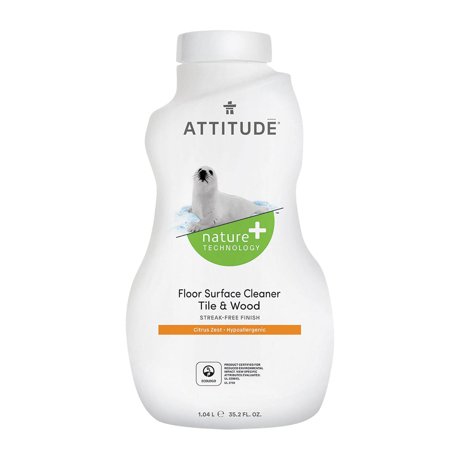 Attitude Floor Cleaner Tiles And Wood - Citrus Zest