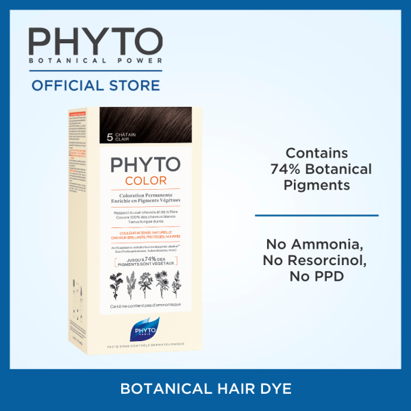 Buy Phyto Phytocolor Ammonia-Free and Permanent Botanical Hair Color Singapore
