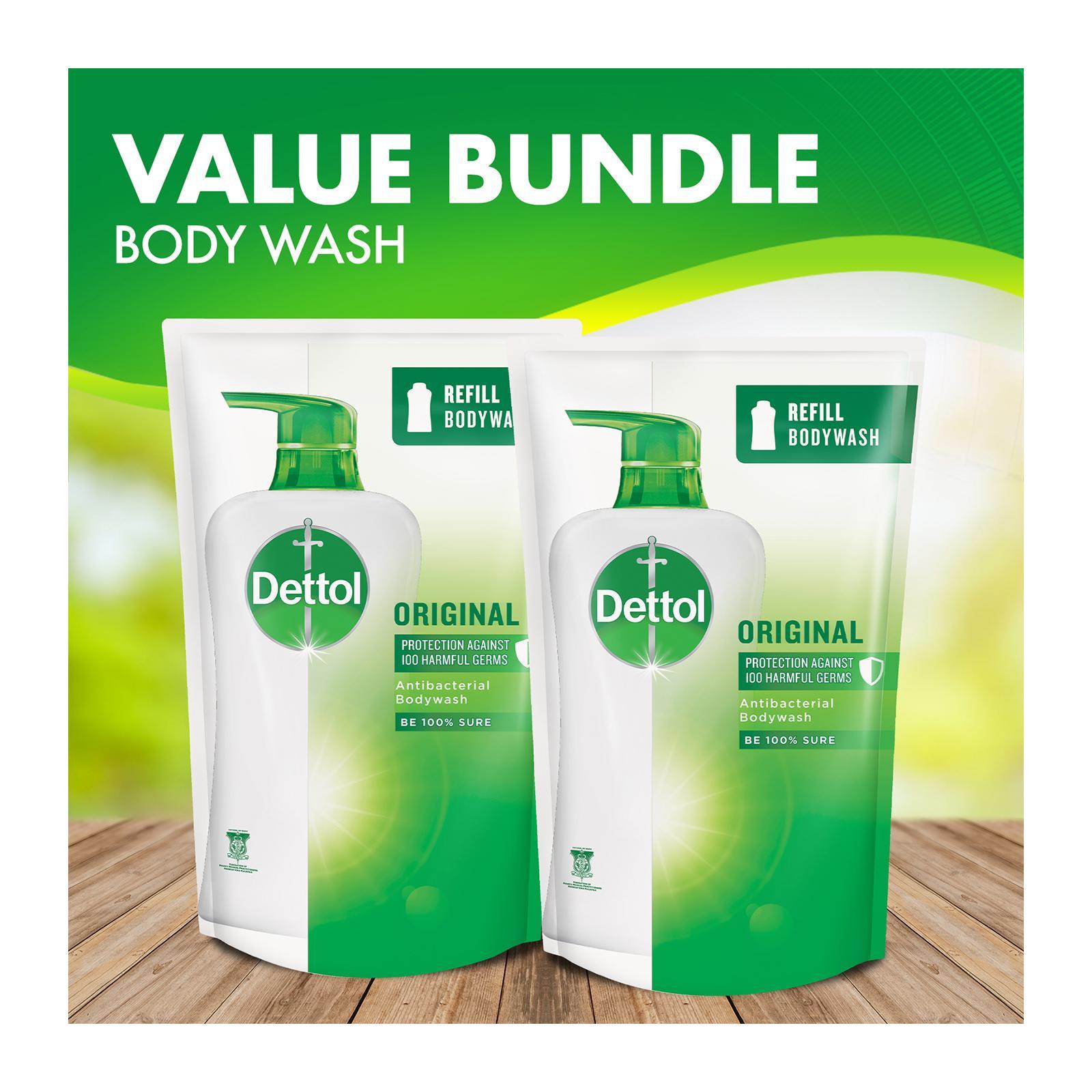 Dettol Body Wash Pouch Original 900Ml - Bundle Of 2