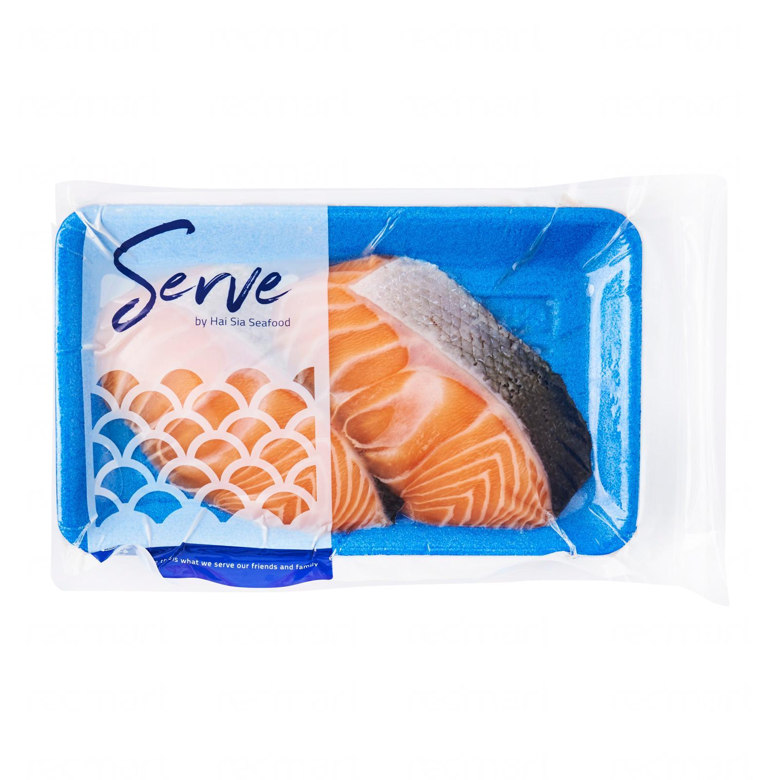 Serve by Hai Sia Seafood Norwegian Salmon Portions - Frozen