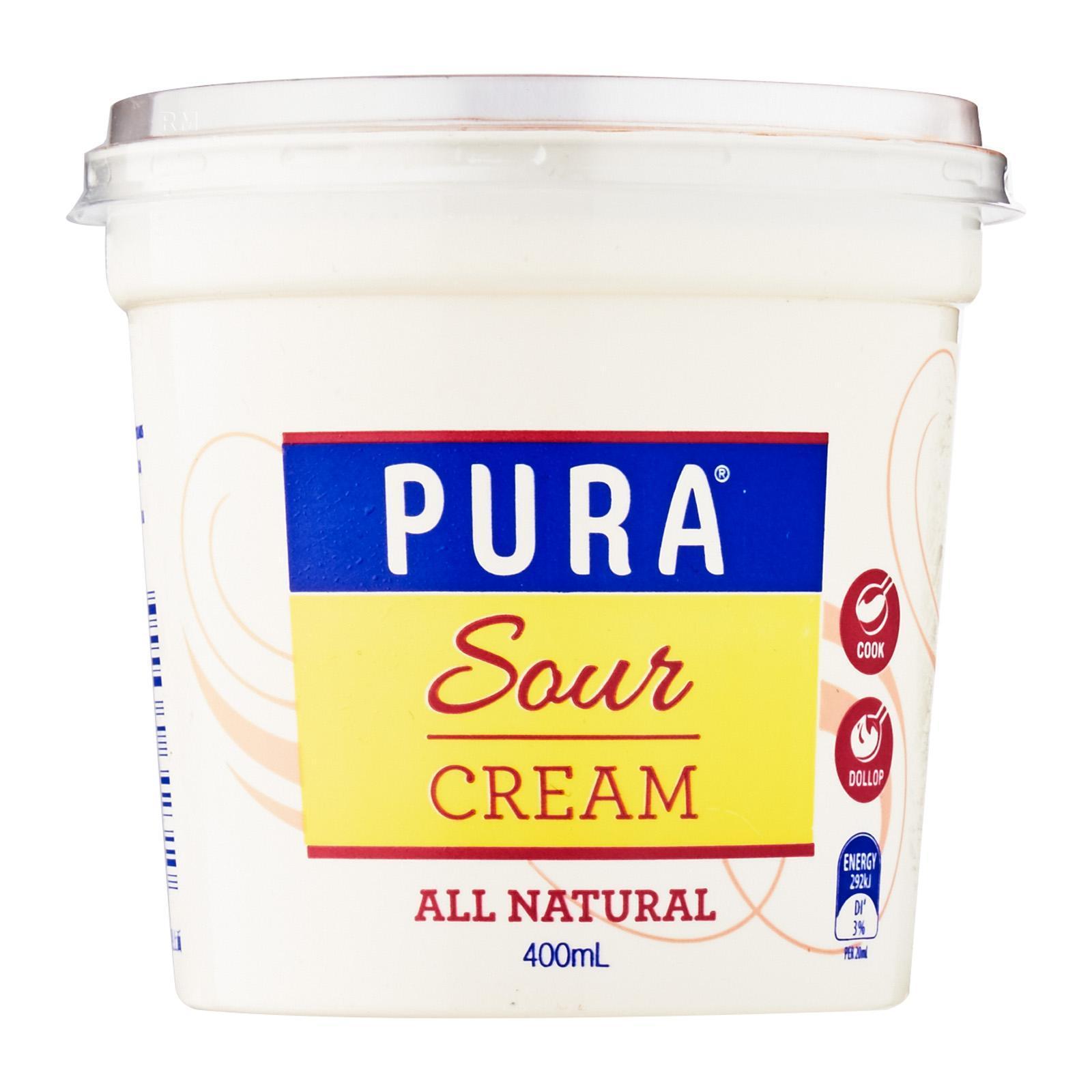 Pura Sour Cream Full Fat