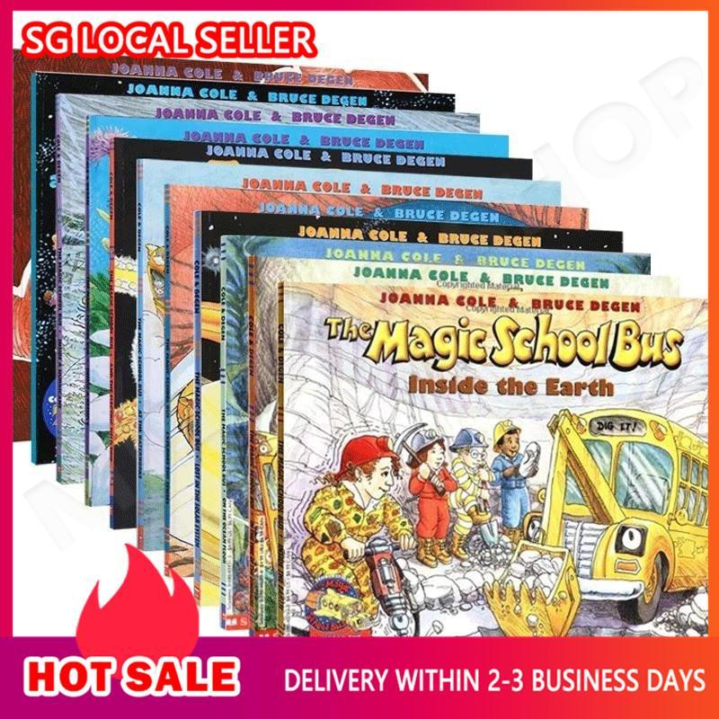 [SG Ready Stock] The Magic School Bus Cartoon book set  original Series (11 books) c1 c2