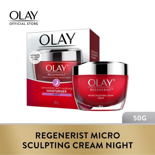 Buy Olay Regenerist Micro Sculpting Cream Night 50g Singapore